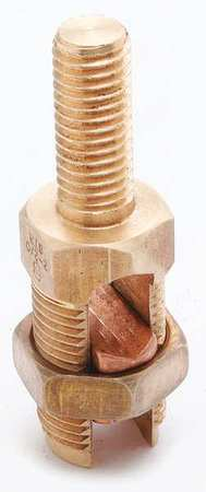 Copper Cable to Post/Flat 2 sol Model K2C26 by USA Burndy Electrical Wire Split Bolt Connectors