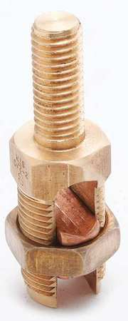 Copper Cable to Post/Flat 10 sol Model K2C20 by USA Burndy Electrical Wire Split Bolt Connectors