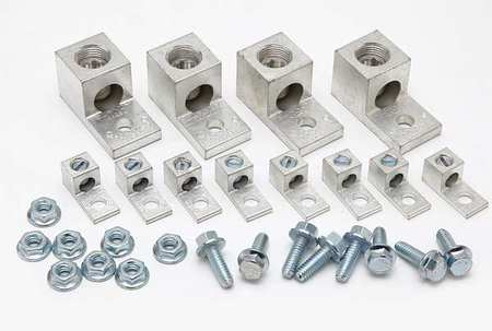 Mechancl Conn LugKit 250 kcmil to 14 AWG by USA Burndy Electrical Wire Mechanical Connectors