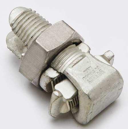 Split Bolt Connector 1/0 str to 350kcmil by USA Burndy Electrical Wire Split Bolt Connectors
