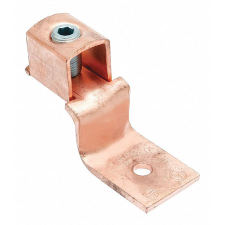 Mechanical Conn Trminl 2 to 8 AWG 1 Cond by USA Burndy Electrical Wire Mechanical Connectors