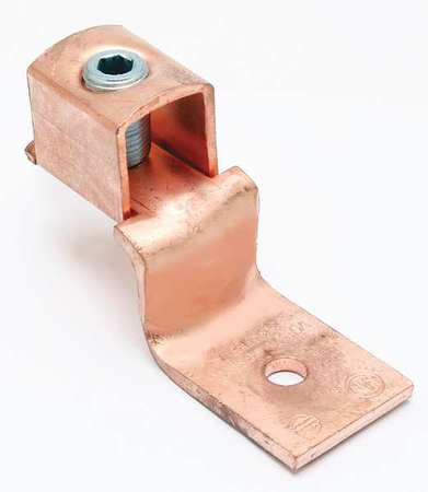 Mechancl Conn Trminl 3/0 to 4 AWG 1 Cond by USA Burndy Electrical Wire Mechanical Connectors