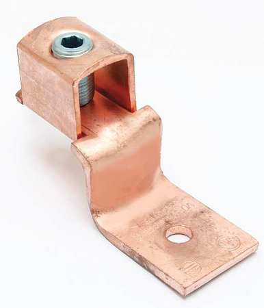 Mechancl Conn Trminl 10 to 14 AWG 1 Cond by USA Burndy Electrical Wire Mechanical Connectors