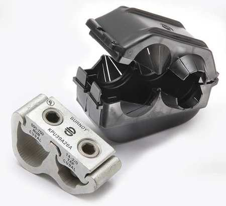Insulated Gutter Connector Aluminum by USA Burndy Electrical Wire Mechanical Connectors