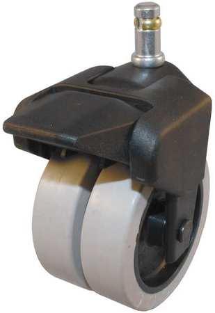 Value Brand Dual Wheel Swivel Caster w/Brake 150 lb 3 In. Type 305-2XPU-41-WB