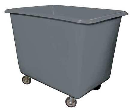 Value Brand Cube Truck 7/8 cu. yd. 600 lb. Cap Gray