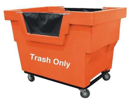 Value Brand Cube Truck 7/8 cu. yd. 1000lb Cap Orange