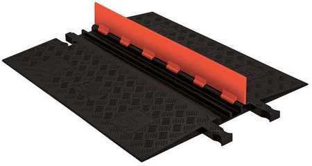 Cable Protector Hinged 2 Channels 3 ft. Model GD2X75 O/B by USA Guard Dog Electric Cable Protectors
