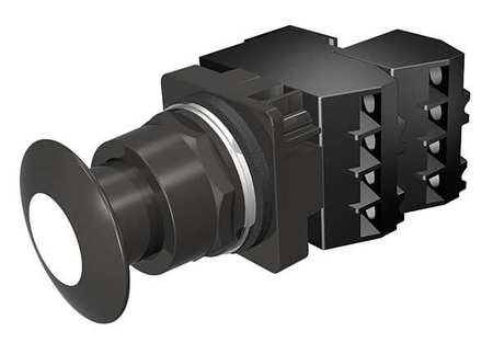Illuminated Push Button 30mm 2NC 480VAC by USA Siemens Electrical Pushbutton Complete Units