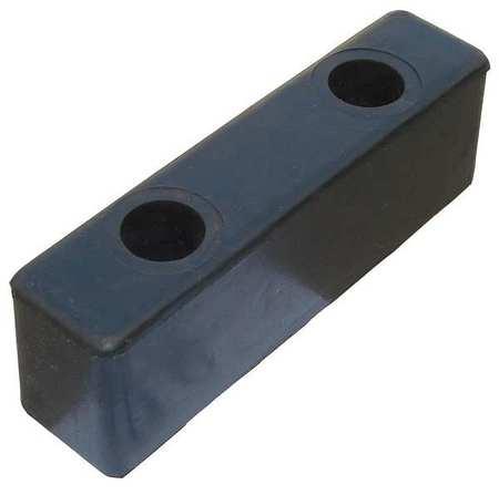 Value Brand Dock/Body Bumper 8x2x2-1/2 In. Rubber