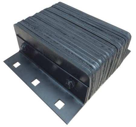 Value Brand Dock Bumper 14x4-1/2x12 In. Rubber