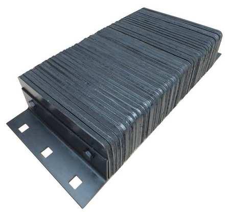 Value Brand Dock Bumper 26x4-1/2x12 In. Rubber