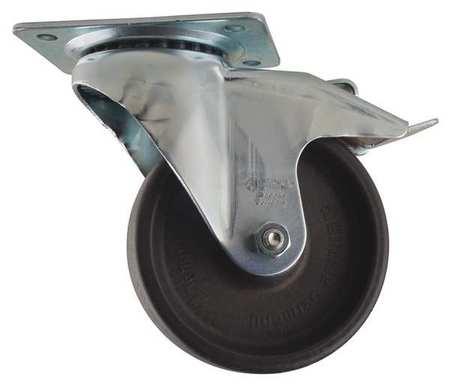 Value Brand Swivel Plate Caster Glass Nylon 4 in. 330 lb A