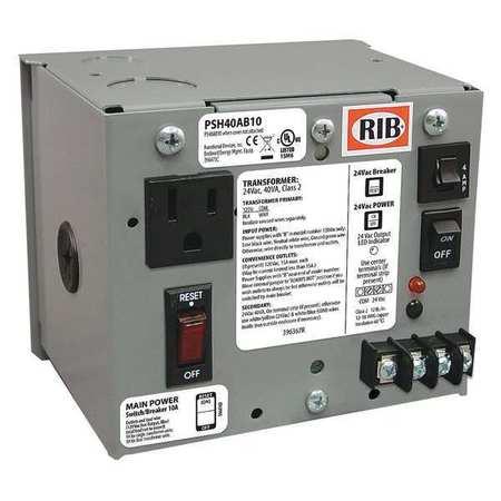 Class 2 Transformer 40VA 120VAC 24VAC Model PSH40AB10 by USA Functional Devices Electrical Class 2 Transformers