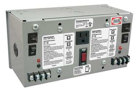 Class 2 Transformer (2)40VA 120VAC 24VAC by USA Functional Devices Electrical Class 2 Transformers