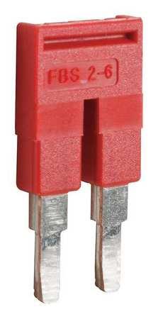 Jumper 2 Pole 0.91 in L by USA Schneider Electrical Terminal Blocks