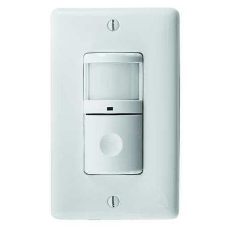 Vacancy Sensor PIR 1200 sq ft White by USA Hubbell Kellems Infrared Motion Sensors