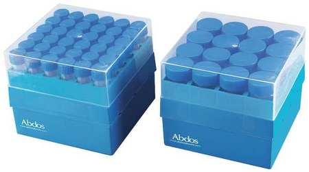 Microtube Storage Box,15 Ml Tubs,pk4