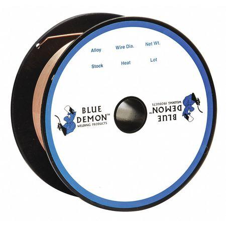 """Blue Demon Carbon Steel Weld Wire 0.023""""x2lb Spool"""