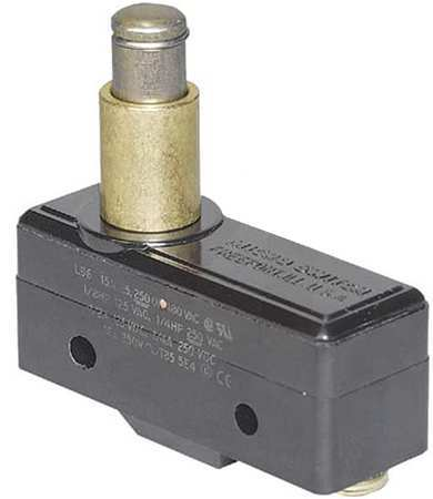 Lg Basic Snap Swch 15A SPDT Pnl Mt Plngr Model BZ 2RQ77 by USA Honeywell Electrical Enclosed Snap Action Switches