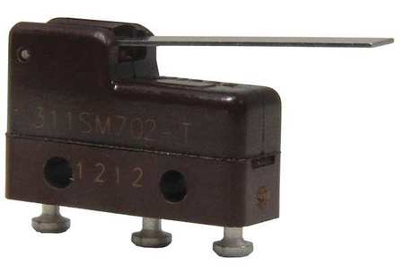 Sub Mini Snap Swch 4A SPDT Strt Lever by USA Honeywell Electrical Enclosed Snap Action Switches