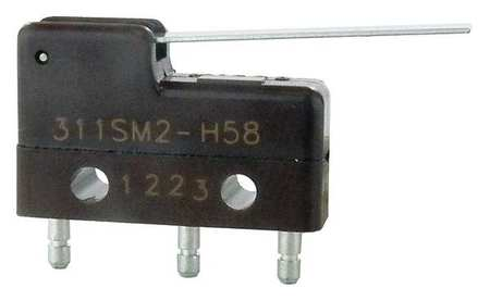 Sub Mini Snap Swch 5A SPDT Strt Lever Model 311SM2 H58 by USA Honeywell Electrical Enclosed Snap Action Switches