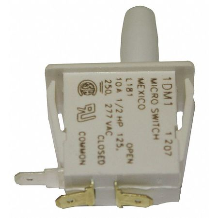 Pnl Mt Switch 10A SPDT Bullet Nose Plngr by USA Honeywell Electrical Enclosed Snap Action Switches