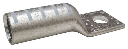 One Hole Lug Compress Conct 300 kcmil Model 24C333 by USA Value Brand Electrical Wire Lug Compression Connectors