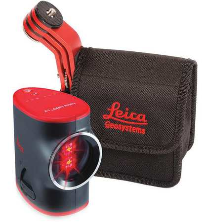 Cross Line Laser,Int and Ext,Red,100 ft.