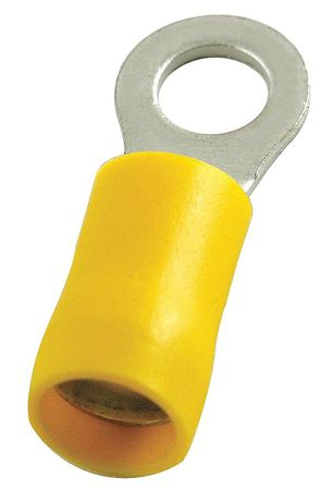 Ring Term Vinyl #6 0.91 in. PK50 by USA Power First Electrical Wire Terminals
