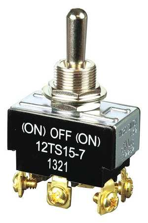 Toggle Switch DPDT 10A @ 277V Screw Model 12TS15 7 by USA Honeywell Electrical Toggle Switches