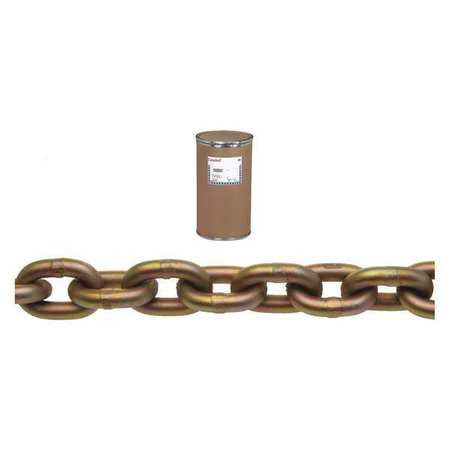 Campbell 1/4In Gr 70 Chain Yellow Chromate 800Ft Min. Qty 800