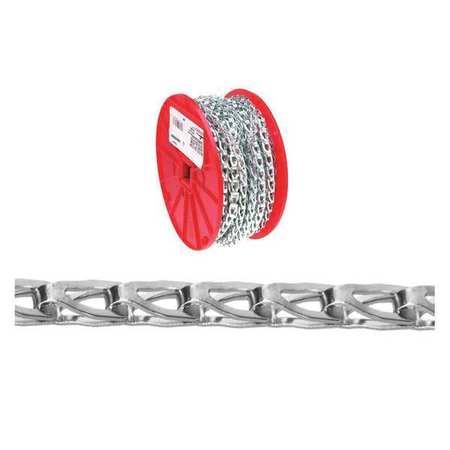 Campbell No.8 Sash Chain Blu-Krome 500Ft Per Reel