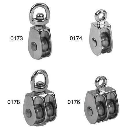 Campbell No0173 11/2In Pulley Sgl Sheave Swivel Min. Qty 10