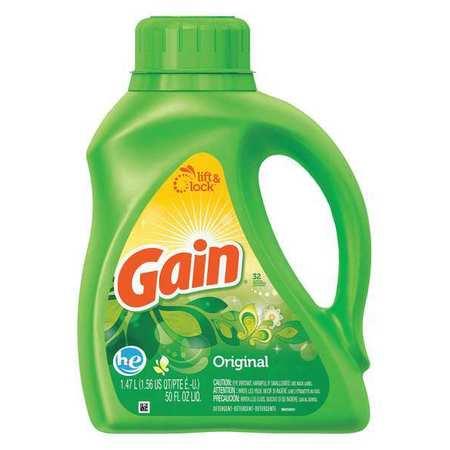 Gain 50oz. Bottle Original Scent Liquid Laundry Detergent