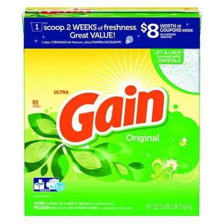 Gain 91 Oz. Box Original Scent Powder Laundry Detergent
