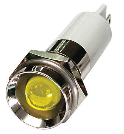 Protrude Indicator Light Yellow 24VDC Model 24M122 by USA Value Brand Electrical Control Pilot Lights