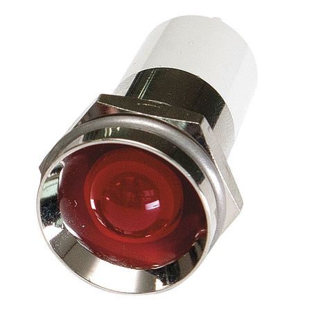 Protrude Indicator Light Red 120VAC Model 24M160 by USA Value Brand Electrical Control Pilot Lights
