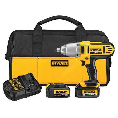 DeWalt DCF889HM2 20-volt MAX Lithium Ion 1/2 High Torque Impact Wrench with Hog Ring
