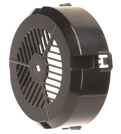 External Cooling Fan Cover Plastic by USA Dayton Motor Parts