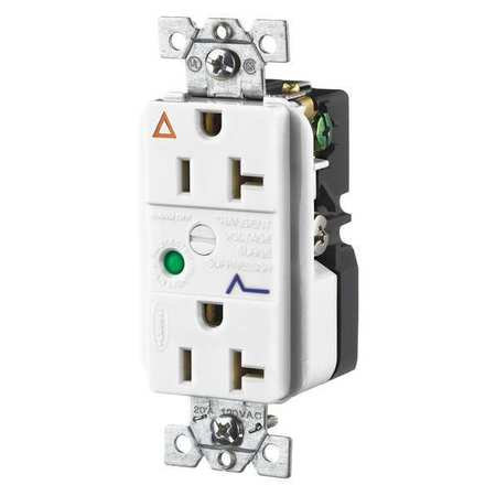 Ig5362Wsa Surge Supressor Recept White by USA Hubbell Kellems Electrical Surge Protection Devices