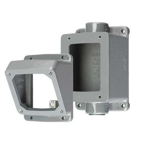 Angle Adapter And Back Box 30 Amp by USA Hubbell Kellems Electrical Pin & Sleeve Receptacles