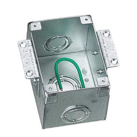 Hubbell B2481 Floor Box by USA Hubbell Kellems Electrical Floor Boxes & Covers