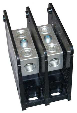 Pwr Dist Block 175A 2P 1P Primary 600VAC by USA Mersen Electrical Wire Power Distribution Blocks