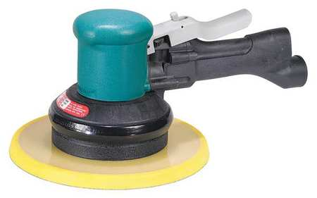 Air Polisher,5 In. Pad,10000 Rpm