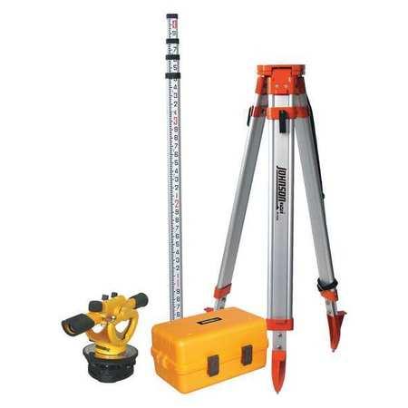 Builders Transit Level Kit,22X,200 ft