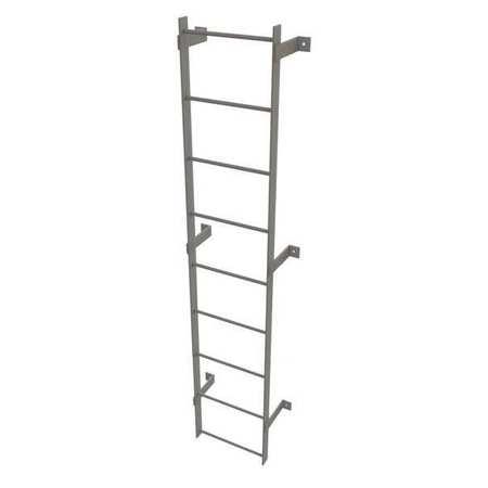 Tri Arc Fixed Ladder Steel 8 Ft 500 Lb Wlfs0109
