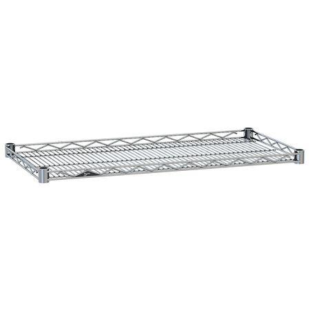 Metro Wire Shelf Drop Mat 21x48 Chrome PK4
