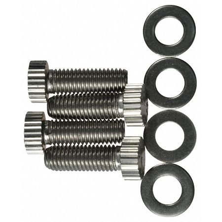 Value Brand Kit (4) Screws Stainless Steel Type SSRG00010PSIG541-8G