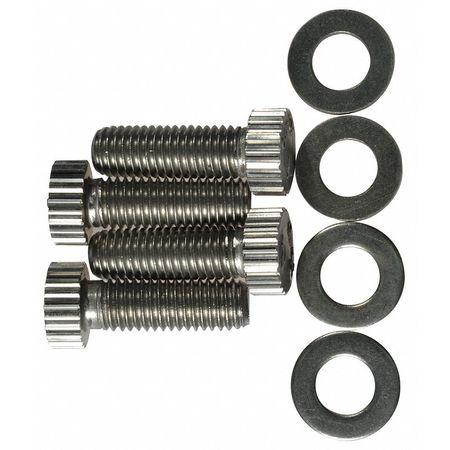 Value Brand Kit (4) Screws Stainless Steel